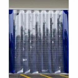 Ribbed PVC Curtain