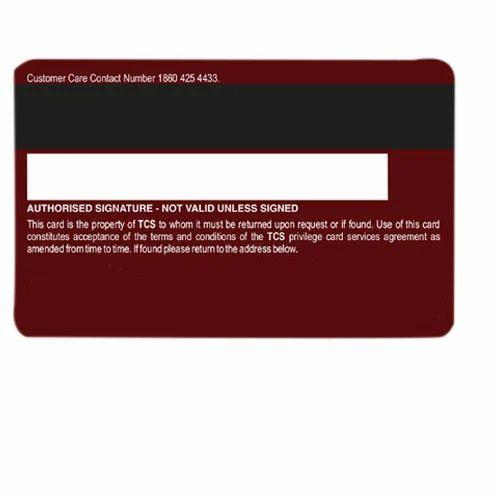 Magnetic Stripe Card