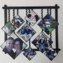 Decorative Fiber Collage Frame