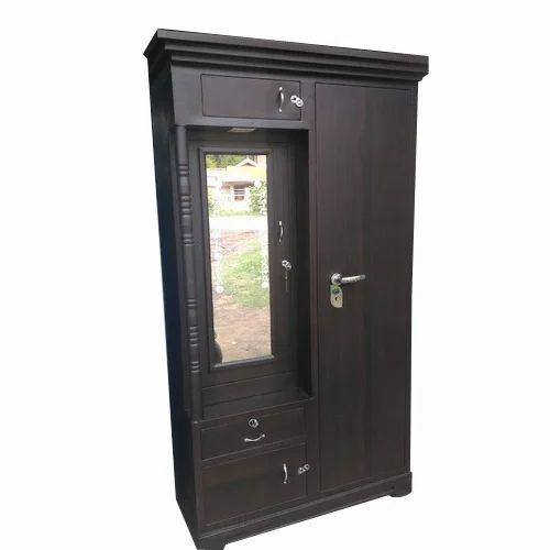 Dark Brown Wooden Bedroom Almirah Rs 11000 Piece S M Steel