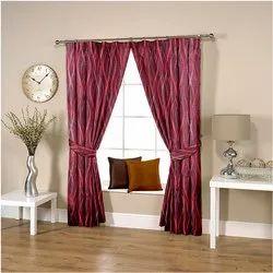Wavy Purple Curtain