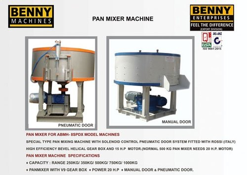 Cement Pan Mixer