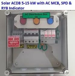 Solar ACDB For Rooftop
