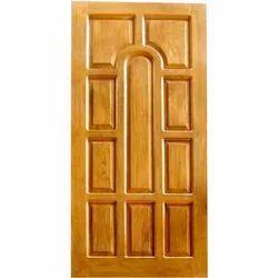 Teak Wood Rectangular Teak Wooden Panel Door