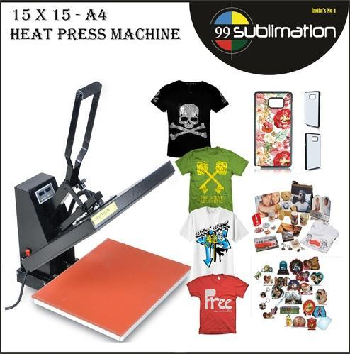 15 X Heat Press Machine For 2D Mobile Covers T Shirts