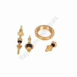 Three Phase Brass Transformer Components