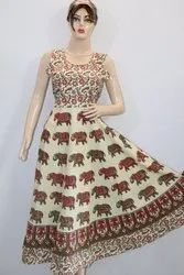 Ladies Jaipuri Frock