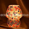 Acc To Standard Handmade And Mosaic Colourful Table Lamp