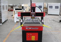 Cast Iron Metal Heavy Duty CNC Router Machine, Model Number: 6090S