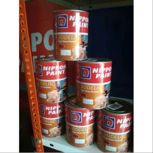 Nippon Paints Oil Based Paint Bodelac High Gloss Enamel, Packaging Type: Tin