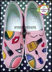 Women Slip Ons Make up shoes