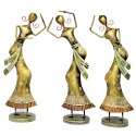 Iron Handmade Copper Brass Decorative Figurines Dancing Ladies Showpiece Home Decor