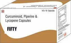Curcuminoid Piperine & Lycopene Capsules