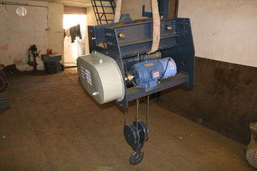 Electric Wire Rope Hoist, Capacity: 10-15 Ton, Rs 45000 /piece | ID ...