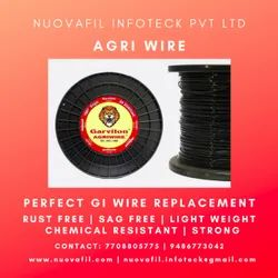 Monofilament,Twisted Plastic Agri Wire / Hanging Wire / Tomato Wire, Packaging Type: Coils