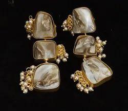 Baruk Stone Earring