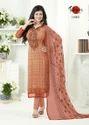 3/4 Sleeve Silky Salwar Suit