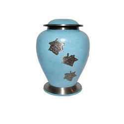 Black & White Funeral Urns