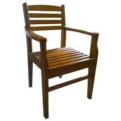 Brown Teak Wood Office Chair Rs 7550 Piece Ti Industries Id