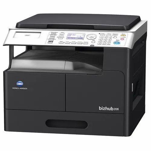 Konica Minolta Bizhub 206 Multifunction Printer With Trey,Bypass,Duplex,Dadf