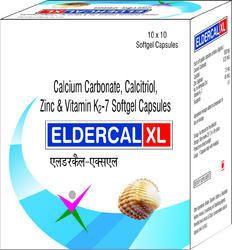 Calcitriol Calcium Carbonate Zinc and Vitamin K2-7 Softgel Capsules