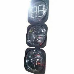 Countdown Timer And Pedestrian Signal Lights