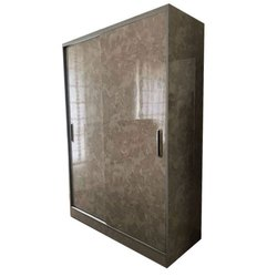 Two Door Wooden Wardrobe, Size/Dimension: 8-9 Feet height