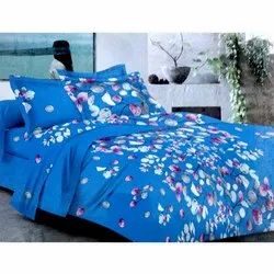 Sig. shiraz Blue Double Bed Sheet