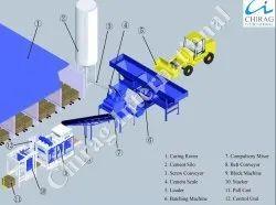 Chirag High Quality Vibration Block Making Machine