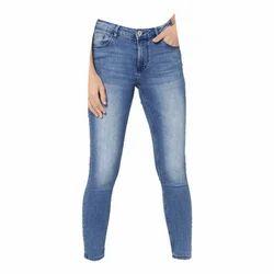 JIMMY JACKSON Stretchable Women Light Blue Jeans Pants