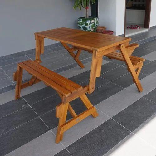 Teak Wood Garden Benches