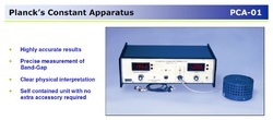 PCA01 Plancks Constant Apparatus