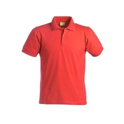 Cotton Red Mens Promotional Collar T Shirt