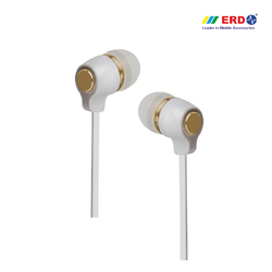 Hf-20 White/ Gold Earphone