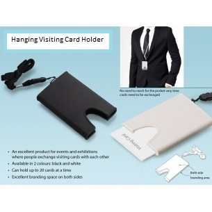 Rcube Hanging Visiting Card Holder, Size: 11 X 6.7 X 1.2cm