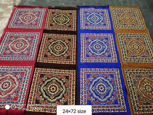 SATYA Multicolor Pooja Mat Assan 24/24