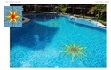 Blue Random Mix Swimming Pool Glass Mosaic Tiles