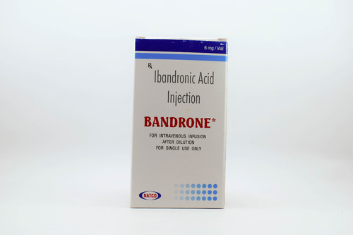 Bandrone 6Mg Injection, Natco Pharmaceutical Ltd, Packaging Size: 1 Vial