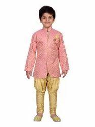 AJ Dezines Kids Sherwani And Breeches Set for Boys, Age: 1-10 Years