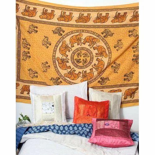 Designer Elephant Tapestry