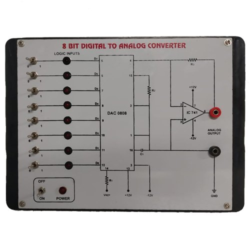 8 Bit Analog To Digital Converter For Laboratory | ID