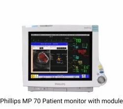0-100% 20-254bpm Refurbished Philips Patient Monitor, For Hospital, 3 lead
