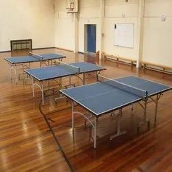 Matte Table Tennis Room Flooring Service