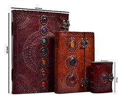 Handmade Vintage Leather Journals, Stone Journals, Leather Diaries, Leather Notebooks, Gifting