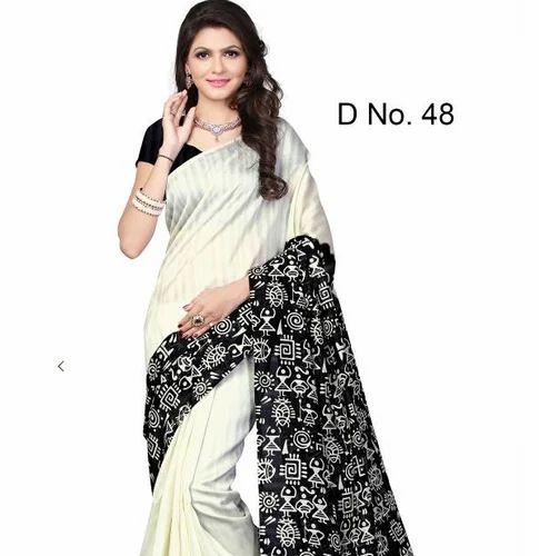 ef3cc8bad47bc4 B-22 Bhagalpuri silk printed Saree at Rs 3300 | भागलपुरी ...