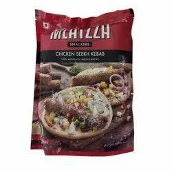 Meatzza Frozen Chicken Seekh Kabab