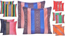 Indian Mandala Silk Cushion Cover