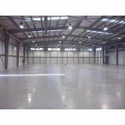 Commercial Building Epoxy Floor Screeding Services, For Indoor