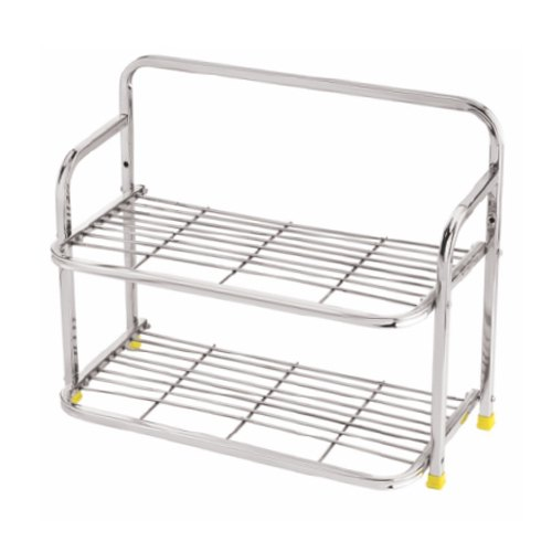Stainless Steel Designer Shoes Rack