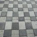Grey Rectangular Cement Paver Block, For Landscaping